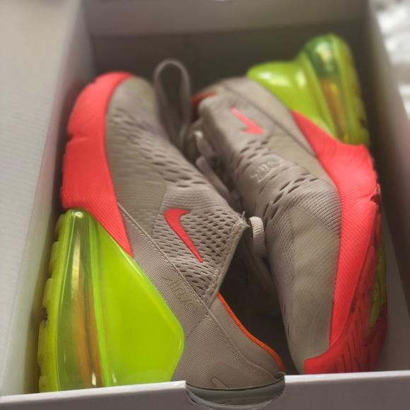 Escandaloso Construir sobre Actual  Nike Shoes | Air Max 270 Pink And Neon Yellow | Poshmark